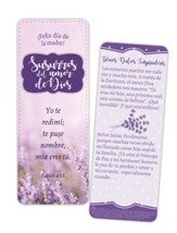 Susurros del amor de Dios, marcador jumbo, dia de la madre  (Whispers of God's Love Mother's Day Jumbo Bookmark, Spanish)
