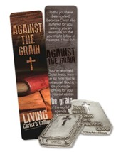 Against the Grain Pocket Piece and Bookmark