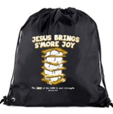 Jesus Brings s'more Joy Drawstring Backpack