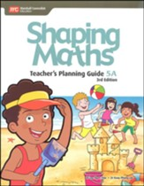 Shaping Maths Teacher's Planning Guide 5A (3rd Edition)