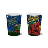 All Aboard for Christmas Plastic Tumbler