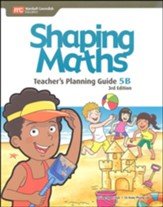 Shaping Maths Teacher's Planning Guide 5B (3rd Edition)