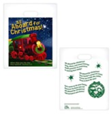 All Aboard for Christmas Goodie Bags, Pack of 12