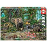 African Jungle Puzzle, 2000 Pieces
