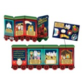 All Aboard for Christmas Fold-Out Activity Booklet