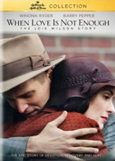 When Love Is Not Enough: The Lois Wilson Story, DVD