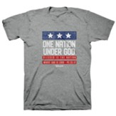 Patriotic Shirt, Grey, Large
