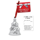 A Child. A Savior. A Son. Ornament and Gift Tag