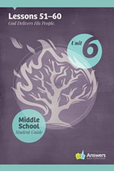 Answers Bible Curriculum Middle School Unit 6 Student Guide (2nd Edition)