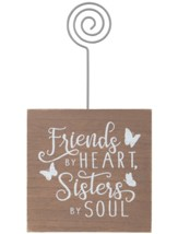 Friends By Heart, Sisters By Soul, Photo Holder