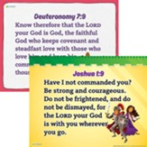 Answers Bible Curriculum Grades 2-5 Unit 7 Memory Verse Posters (2nd Edition)