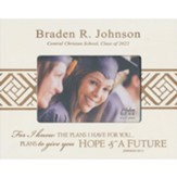Personalized, Photo Frame, Graduation, 4x6, White