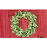 Joy To the World, Wreath, Doormat