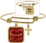 Strength Adjustable Bracelet, Phil 4:13
