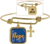 Hope Adjustable Bracelet, Ps 119:114