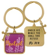 Protect Keyring, Ps 91:4
