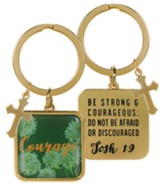Courage Keyring, Josh 1:9