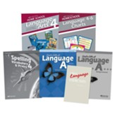 Abeka Grade 4 Homeschool Parent  Language Arts Kit