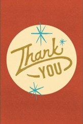 Thank You (Pack of 25 Tracts)