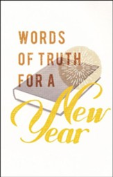 Words of Truth for a New Year, Pack of 25 Tracts