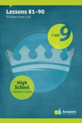 Answers Bible Curriculum High School Unit 9 Student Guide (2nd Edition)