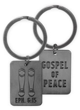 Gospel of Peace, Armor of the Lord Keyring