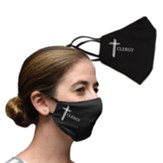 Clergy Face Mask, Black