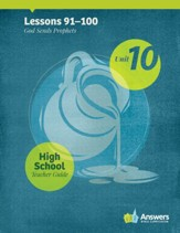 Answers Bible Curriculum High School Unit 10 Teacher Guide (2nd Edition)