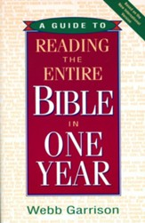 A Guide to Reading the Entire Bible in One Year - eBook