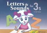 Letters and Sounds for 3s (Unbound Edition)