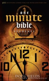 HCSB One Minute Bible for Students - eBook