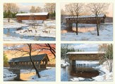 Covered Bridges Christmas Cards, Box of 12