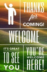 Phrases of Welcome Bulletins, 100
