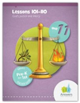 Answers Bible Curriculum PreK-1 Unit 11 Teacher Guide (2nd Edition)