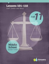 Answers Bible Curriculum Middle School Unit 11 Teacher Guide (2nd Edition)