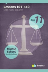 Answers Bible Curriculum Middle School Unit 11 Student Guide (2nd Edition)