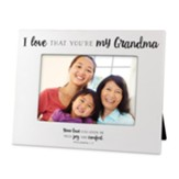 I Love That You're My Grandma, Photo Frame