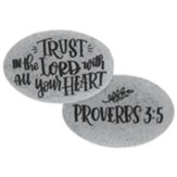 Trust In the Lord With All Your Heart Pocket Stone