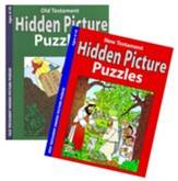 Old & New Testament Hidden Pictures Coloring & Activity Set, 2 Books