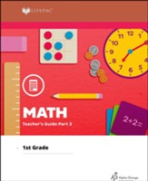 Lifepac Math, Grade 1, Teacher's Guide Part 2