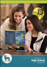 Answers Bible Curriculum High School Unit 13 Teacher Kit (2nd Edition)