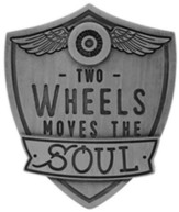 Two Wheels Move the Soul, Guardian Eagle Visor Clip