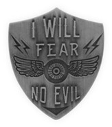 I Will Fear No Evil Visor Clip