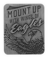 Mount Up With Wings Of Eagles Visor Clip