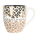 Ceramic Mug Overcomer, Holds 18 oz