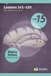 Answers Bible Curriculum Middle School Unit 15 Student  Guide (2nd Edition)
