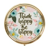 Think Happy be Happy Pill Case