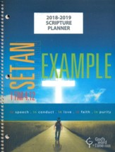 God's Word in Time Scripture Planner: Set An Example  Elementary/Middle School Student Edition (ESV Version;  August 2018 - July 2019)