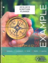 God's Word in Time Scripture  Planner: Set An Example  Secondary Student Planner (ESV Version; Large; August 2018 -  July 2019)