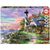 Lighthouse at Rock Bay Puzzle, 1000 Pieces